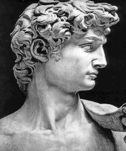 David Michelangelo Paint by numbers