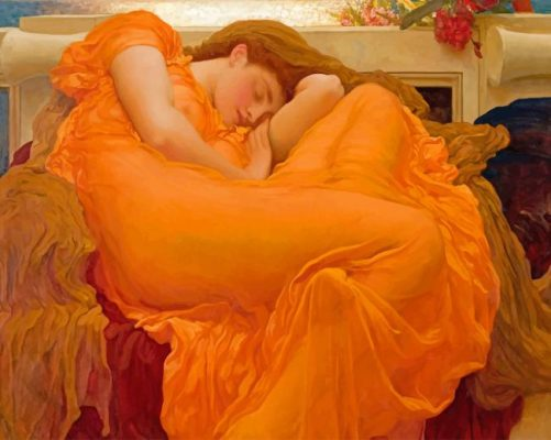 flaming june Paint by numbers