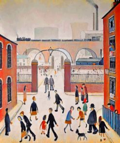 Industrial Landscape Lowry Paint by numbers