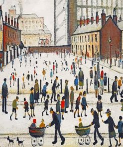 Lost L S Lowry Paint by numbers