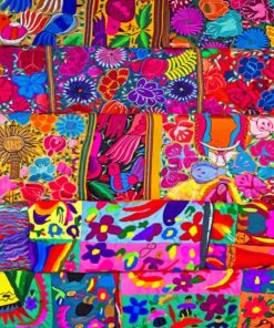 Mexican Art Paint by numbers