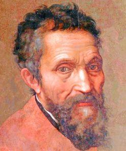 Michelangelo Buonarroti Piant by numbers