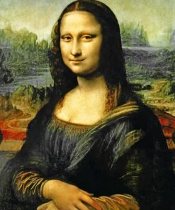 Mona Lisa Paint by numbers