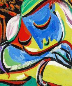 Weeping Woman Pablo Picasso Paint by numbers