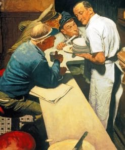 War New Norman Rockwell Paint by numbers