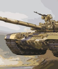 Big Tank paint by numbers