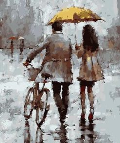 Winter Lovers paint by numbers