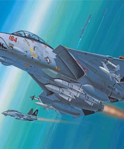 Aesthetic F14 Paint by numbers