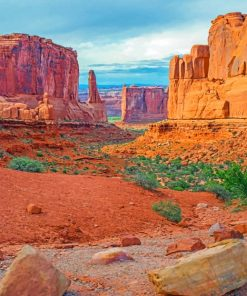 Arches National Park paint by numbers
