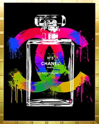 Chanel Poster  Paint by numbers