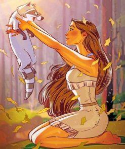 Pocahontas Disney Paint by numpbers