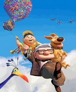 Up Movie paint by numbers
