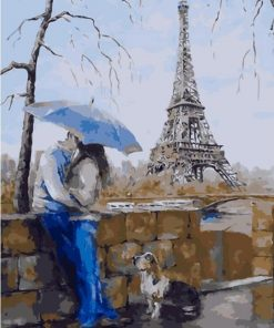 Paris Couple Paint by numbers