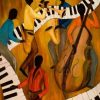 The Get Down Jazz Quintet Paint by numbers