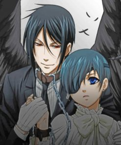 Black Butler Anime paint by numbers
