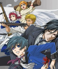 Black Butler paint by numbers