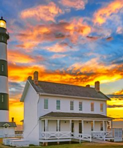 Bodie Island LighthouseBodie Island Lighthouse Paint by numbers