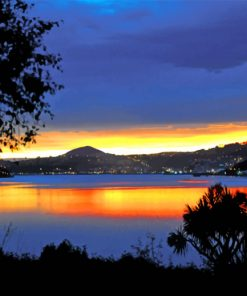 Dunedin Sunset Paint by numbers