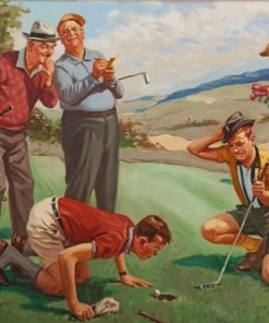 golf-scene-paint-by-number