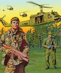 Vietnam War Paint by numbers