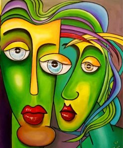 Abstract-Faces-paint-by-numbers