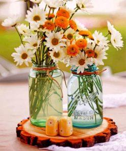 Daisies-In-Jar-paint-by-numbers