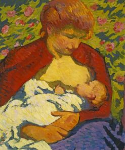 Giovanni-Giacomett-Young-Mother-paint-by-numbers