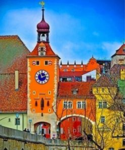 Regensburg-germany-paint-by-numbers
