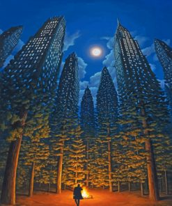 Rob-Gonsalves-The-Arboreal-Office-paint-by-numbers