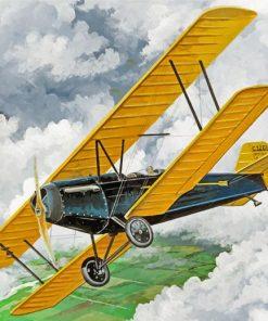 Vintage-Airplane-paint-by-numbers
