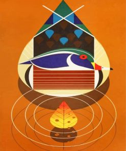 abstract-art-charley-harper-paint-by-number