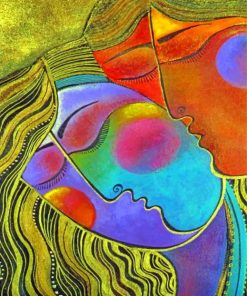 abstract-couple-romance-paint-by-number