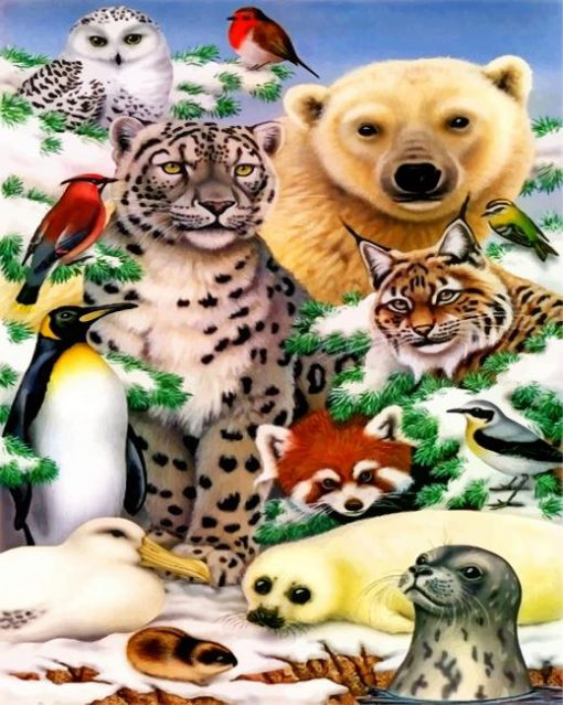 aesthetic-animals-paint-by-numbers