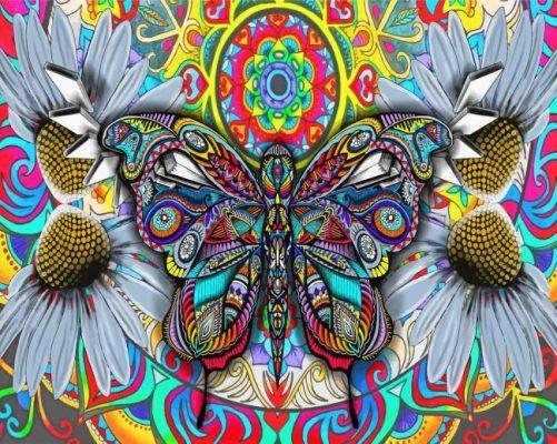 Aesthetic Bohemian Butterfly