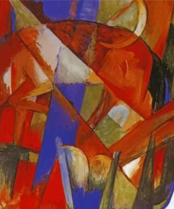 aesthetic-franz-marc-paint-by-number