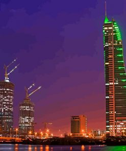 bahrain-tower-night-paint-by-numbers
