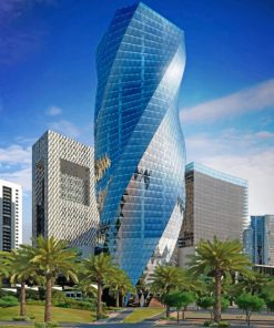 bahrain-tower-paint-by-numbers