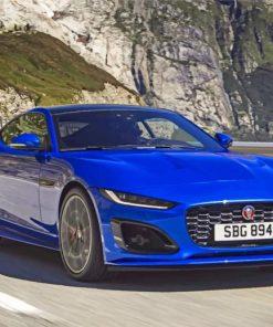 blue-jaguar-car-paint-by-number
