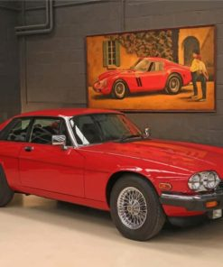 classy-jaguar-xjs-paint-by-number
