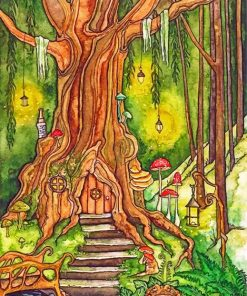enchanted-forest-paint-by-numbers