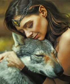girl-and-wolf-paint-by-numbers