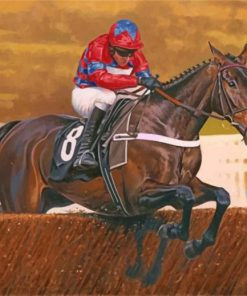 horse-racing-paint-by-numbers