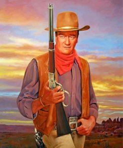 john-wayne-cowboy-paint-by-number