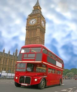 london-bus-and-big-ben-paint-by-numbers