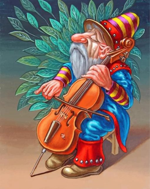musician-dwarf-paint-by-numbers