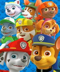 paw-patrol-cartoon-paint-by-number