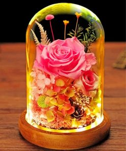 pink-glass-bottles-paint-by-number