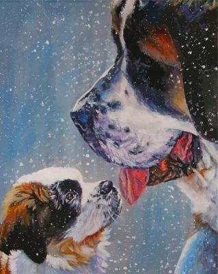 saint-bernard-dogs-paint-by-number