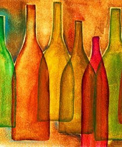 vintage-colored-bottles-paint-by-numbers
