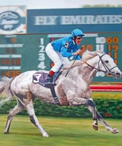 vintage-horse-race-paint-by-numbers